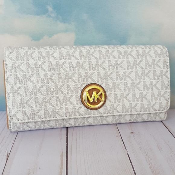 c989b8519247b9 MICHAEL Michael Kors Bags | Michael Kors Fulton Flap Continental ...